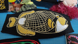 Watakala - Titan Triggerfish - Embroidered