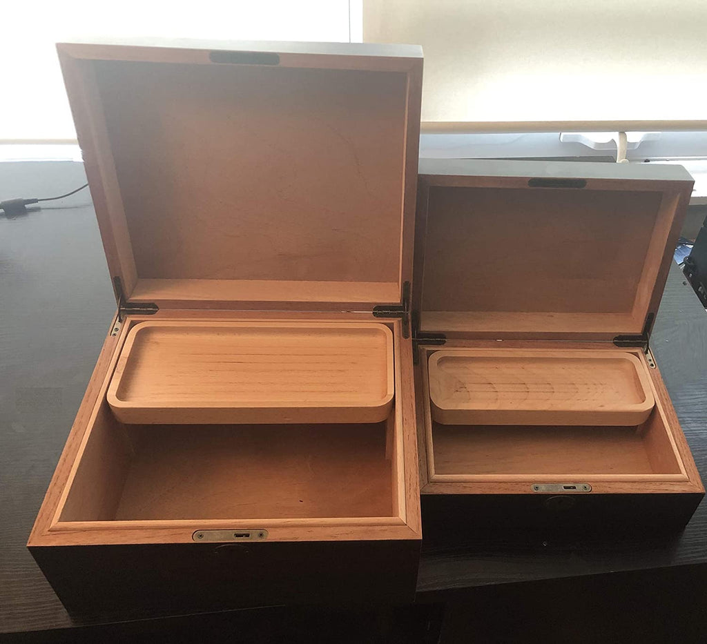 Locking Wood Stash Box by Herb Guard