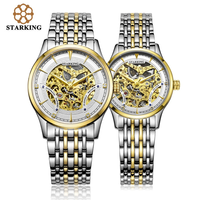 COUPLE GOLD WHITE / MECHANICAL
