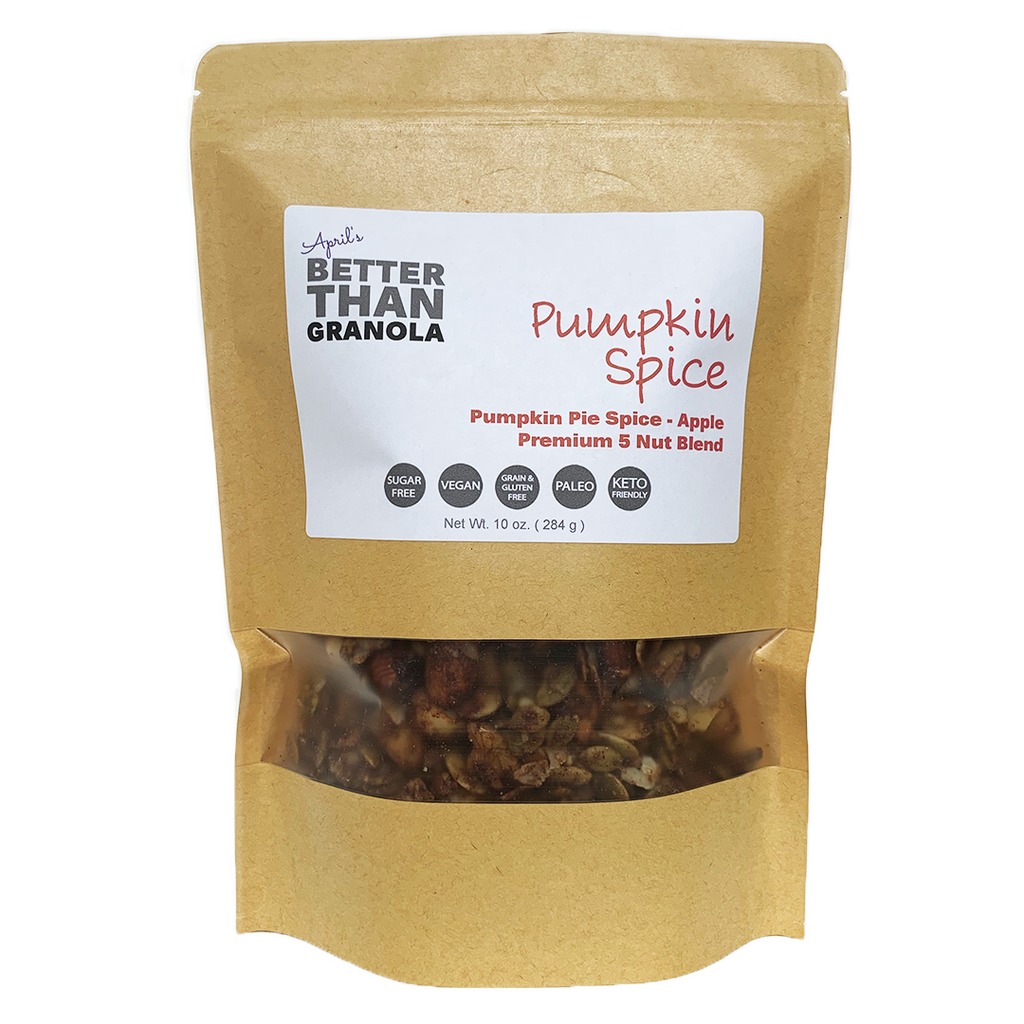 Pumpkin Pie Spice with Apple Granola