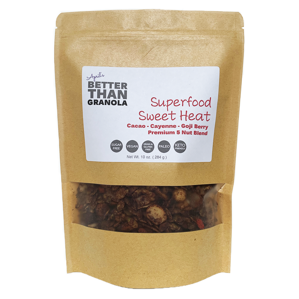 Superfood Sweet Heat Granola
