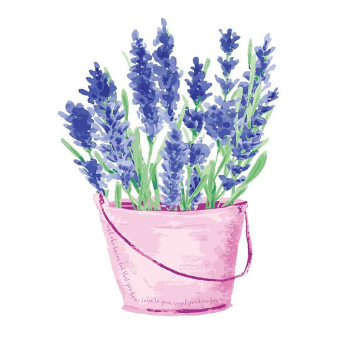 Lavender with Esther 4:14 Bible verse