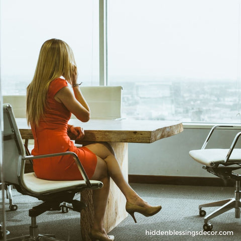 Perfect business woman