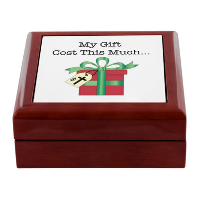 Prayer Box with Christmas Gift