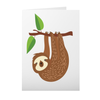 Greeting Cards with Sloth Design