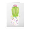 Greeting Cards with Barrel Cactus Design