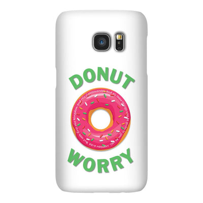Android Phone Case with Donut Worry Design