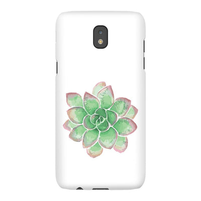 Android Phone Case with Green Succulent