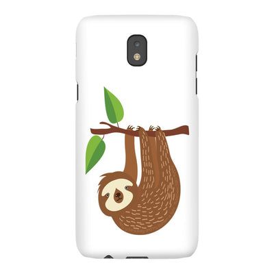 Android Phone Case with Sloth Design and Bible Verse