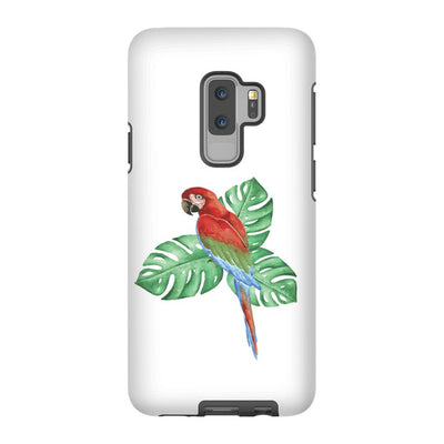 Android Phone Case with Tropical Bird and Bible Verse