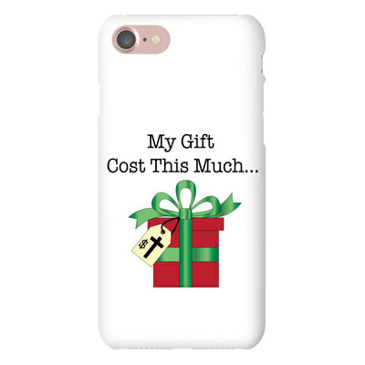 Apple iPhone Case with Christmas Gift