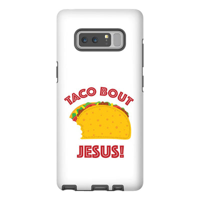 Android Cell Phone Case with Taco Bout Jesus Design