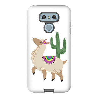 Android Phone Case with Alpaca Design and Hidden Bible Verse