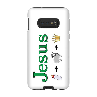 Android Phone Case with Baby Lamb King Design