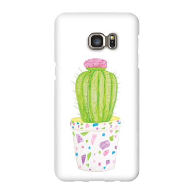Android Phone Case with Barrel Cactus Design