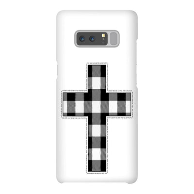 Android Phone Case with Buffalo Cross Design