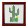 Prayer Box with Cactus Design
