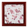 Prayer Box with Rose Pink Terrazzo Design
