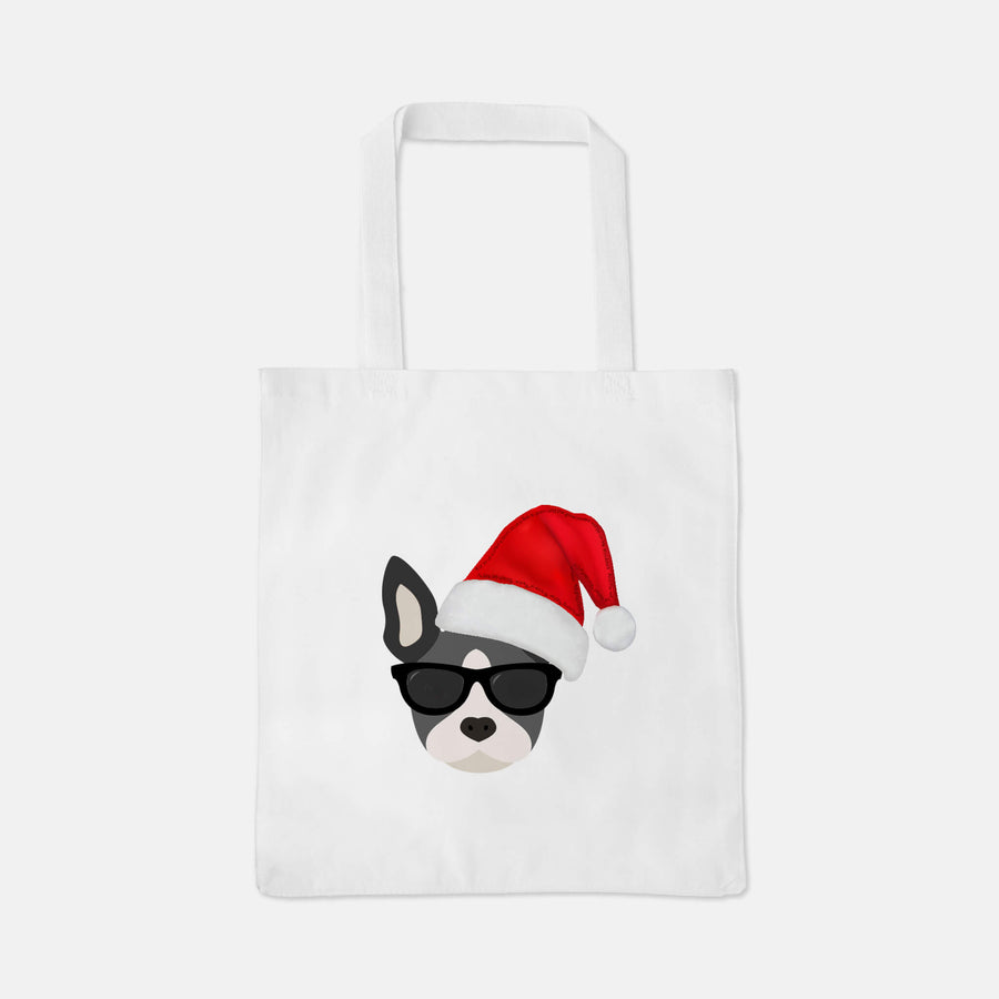 Tote Bag with Boston Terrier