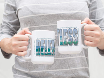 Mug with RELENTLESS Design