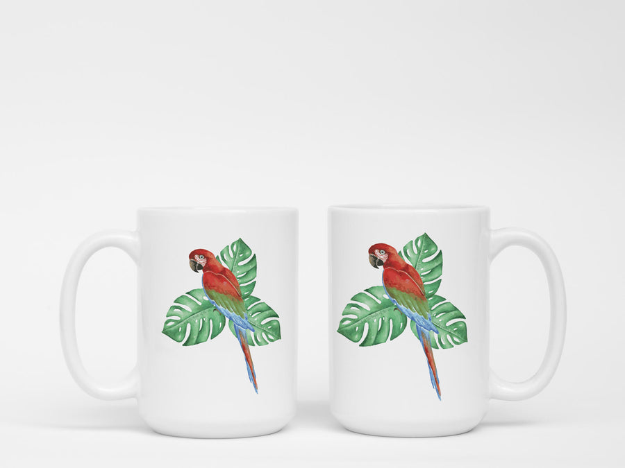 Mug with Tropical Bird