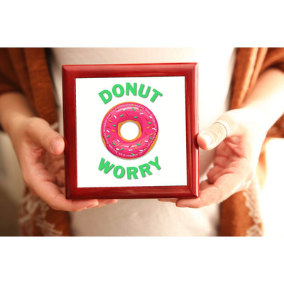 Prayer Box with Donut Worry Design