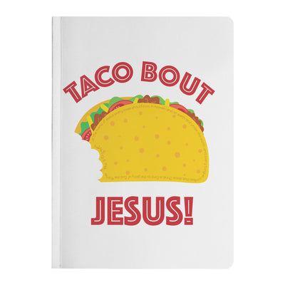 Journal with Taco Bout Jesus Design