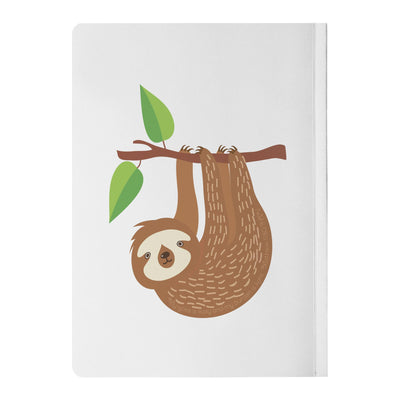 Journal with Sloth Design
