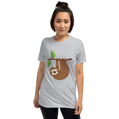 Short Sleeve Christian Tee with Sloth