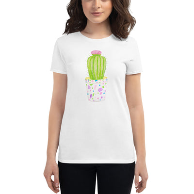 Women's short sleeve t-shirt Barrel Cactus