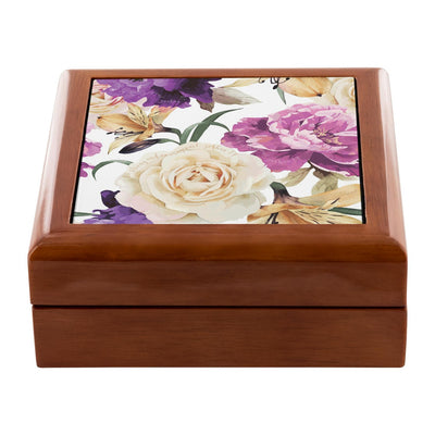 Prayer Box with Floral Design