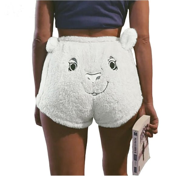 Fleecy Bear Shorts