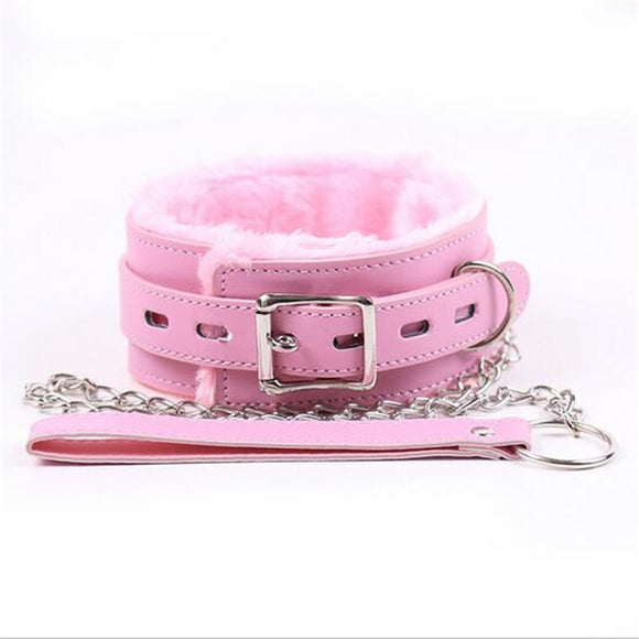 Fluffy Collar & Lead