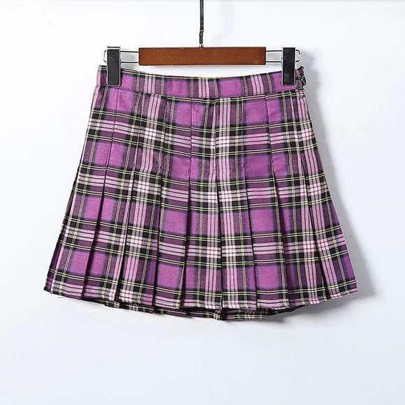 Osaka Plaid Skirt