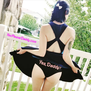 Yes, Daddy? Panties (Black)