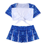 Sequins Cheerleader Costume
