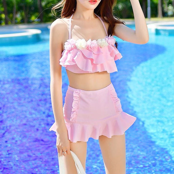 Petal Girl Two Piece Swimmers
