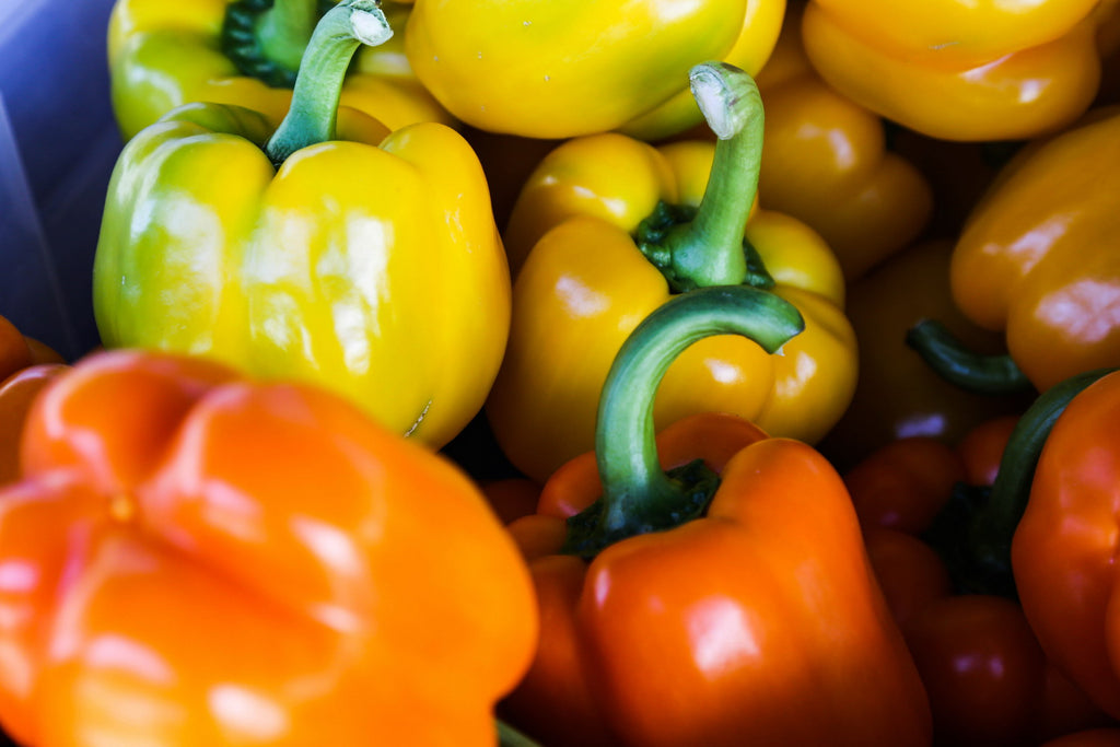 Improve Skin Texture with These SKin Foods Yellow/Orange Bell Peppers