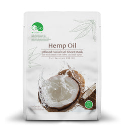 CBD Infused Coconut Gel Sheet Mask - 10 MG CBD/Mask