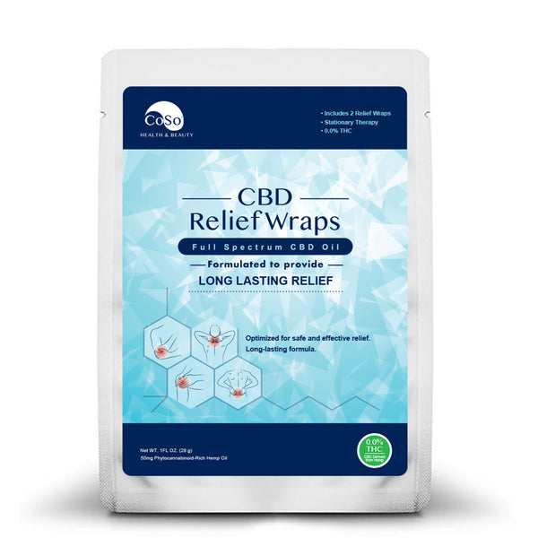 CBD Applied Relief Wrap - 50mg