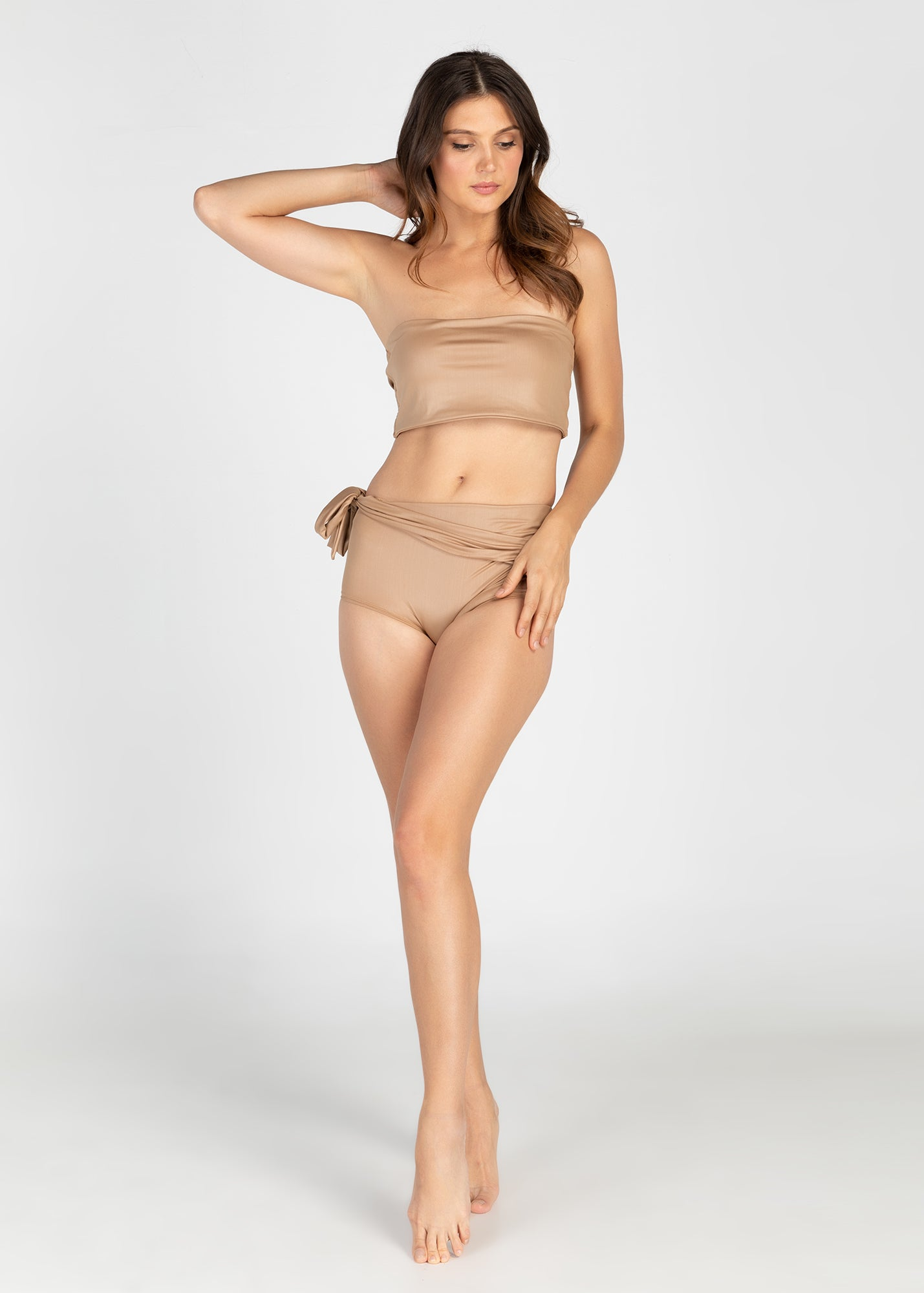 Convertible Bandeau Top (Sand)