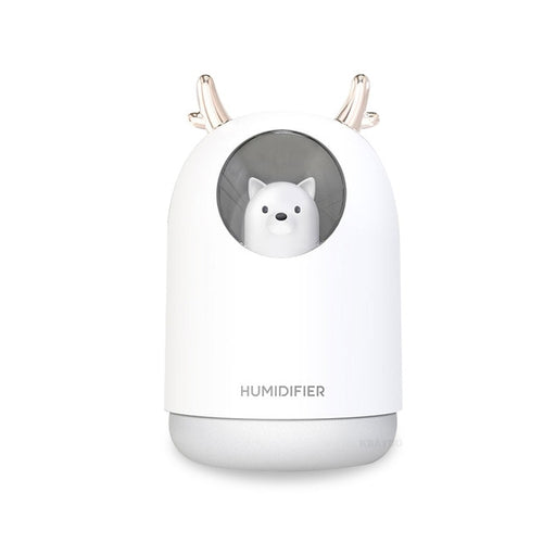 Cartoon mini USB ultrasonic humidifier