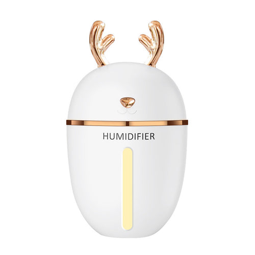 Air Humidifier USB Aroma Essential Oil Diffuser For Home Office Aromatherapy With Lamp