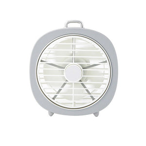 Novelty Desk Mini Fan with Night Light