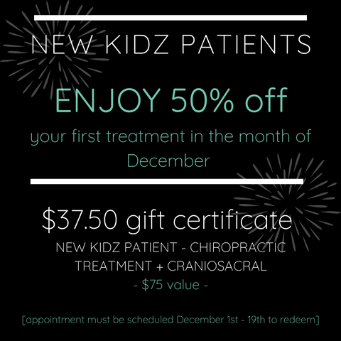 small business saturday, new patient discount, chiro for moms, chiro for kidz