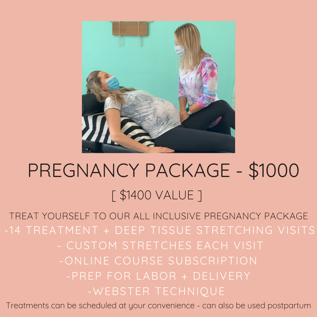 Pregnancy Package Chiro for Moms