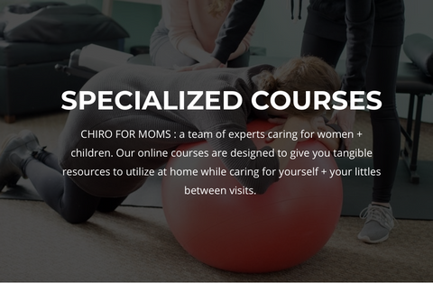 Exercises for Moms, Online Course: home techniques for the most common pain conditions
