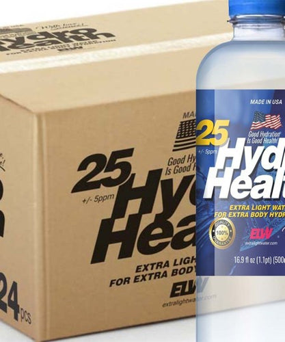 25 HydroHealth (24pcs x 500ml Box) $180-SPECIAL SUMMER PRICE, INCLUDING  S&H ($7.50 per bottle, delivered)