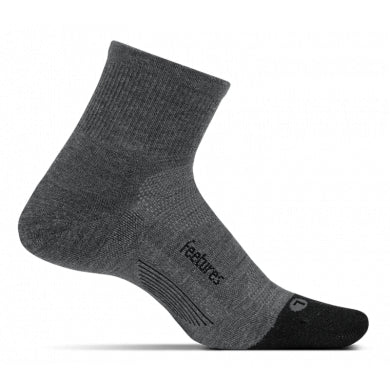 Merino 10 Cushion Quarter - Feetures - Running Niche