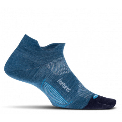 Merino 10 Light Cushion No Show Tab - Feetures - Running Niche